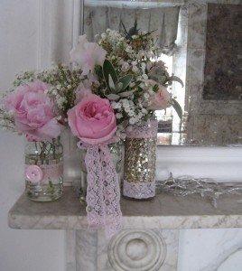 Becki mantle vases 2