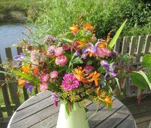Vibrant garden bunch