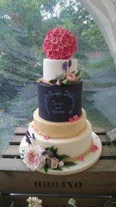 vicky & James cake 2