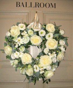 The George Ballroom Door Heart 2